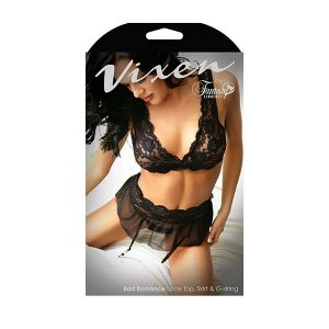 Vixen Between The Sheets Chemise & Panty