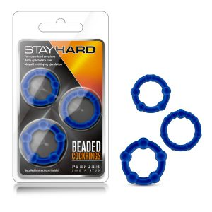 Stay Hard Beaded Cockrings
