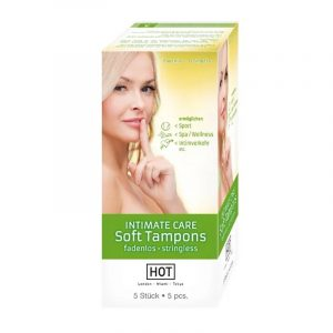 HOT INTIMATE Care Soft Tampons